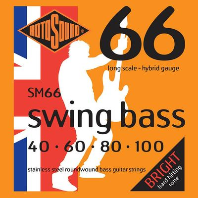 Rotosound SM66 Swing Bass Bass Guitar Strings Free Shipping At Cart