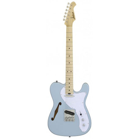 Aria 615-TL Thinline Mystic Ice Blue