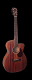 Cort AS-OC4 All Mahogany Solid OM Cutaway with Fishman Sonitone