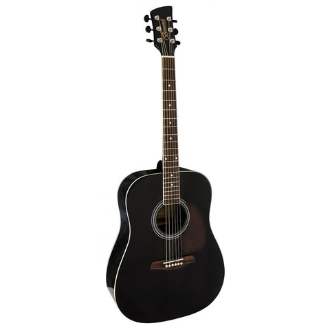 Brunswick BD200 Dreadnought Black