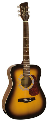 Brunswick Folk Guitar Sunburst