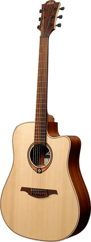 Lag T70DCE Tramontane Dreadnought Cutaway Electric