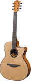 Lag T80ACE Tramontane Auditorium Cutaway Electric
