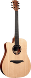 Lag TL70DCE Tramontane 70 Left Handed Dreadnought Cutaway Solid Top