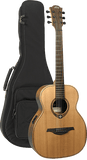 Lag TRAVEL-RCE Tremontane Red Cedar Travel Electro Acoustic with Microphone System and Gigbag