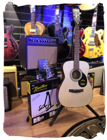 Cort AF510E Guitar and Amp Bundle Deal