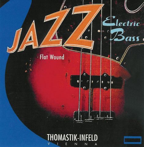 Thomastik Jazz Bass SET Flatwound (Xlong scale 36,) 44-96