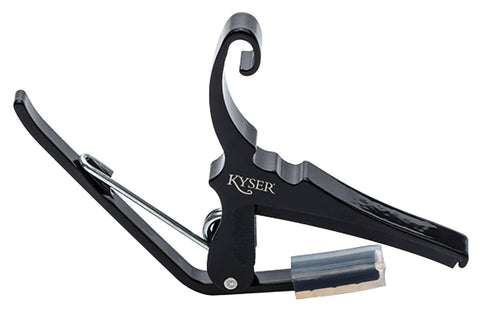 Kyser Capo. Acoustic. Black