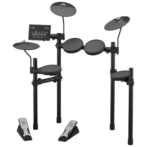 Yamaha DTX402 Drum Kit Bundle with Stool Headphones and Sticks