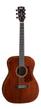 Cort L450C NS Concert Acoustic Solid Mahohany top and back