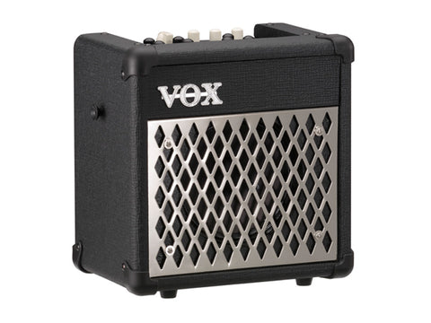 Vox Mini5-RMBK Busking Friendly Guitar Combo with DFX and Drum Machine