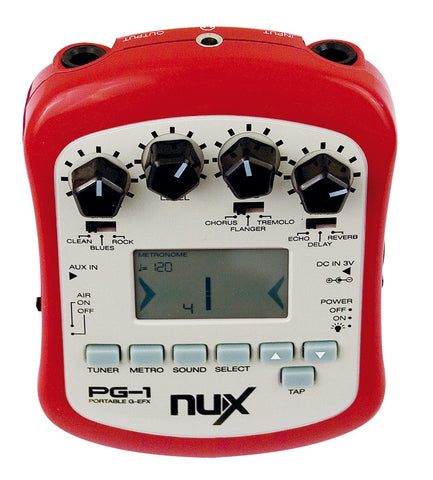 NUX Portable Guitar Effect Processor FX