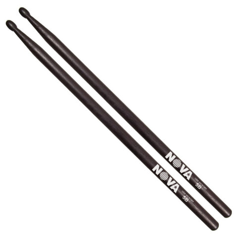 Vic Firth Nova 5B Drumsticks Black