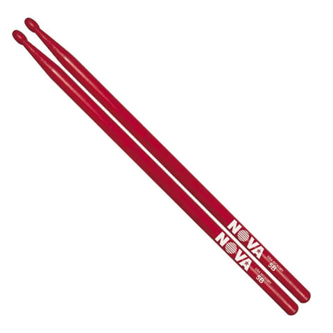 Vic Firth Nova 5B Drumsticks Red