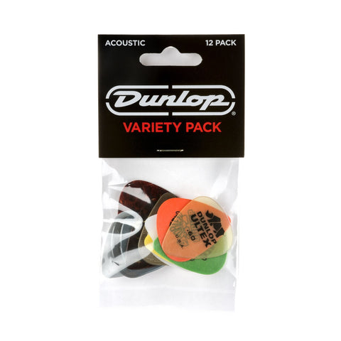 Dunlop Variety 12 Pick Pack - Acoustic