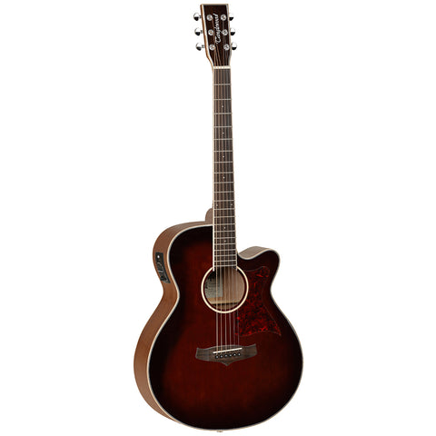 Tanglewood TW4 WB Winterleaf Super Folk Cutaway Whiskey Barrel