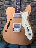 Custom Built Thinline Copperhead Partscaster Incredible Spec by Brinsley Schwarz