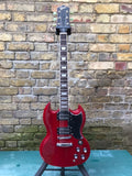 Revelation RX-62 Double Cutaway Classic Solid Electric Guitar Cherry