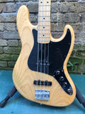 Custom Built High Spec J Style Bass  Deluxe Ash Body Natural finish.