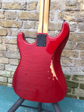 Hondo 760/12 Fame Series 12 String Korea 1985-88 Candy Apple Red Heavily upgraded