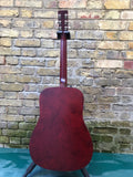 Art & Lutherie Americana Tennessee Red Q1T Dreadnought Electric
