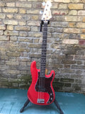 Revelation RBP-65 Classic Bass Guitar Fiesta Red
