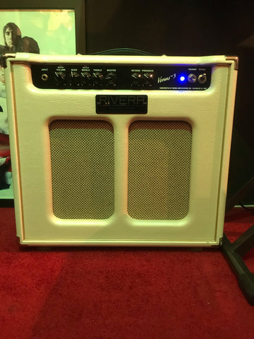 Rivera Venus 3 1 x 12 Valve Amplifier USA Made 7/15watts with Reverb 2000s
