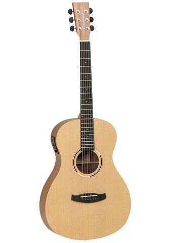 Tanglewood DBT PE HR Parlour Size Electro acoustic Guitar