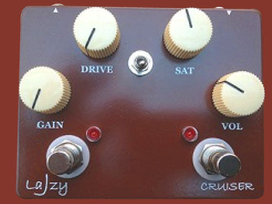 Lazy J Cruiser Deuce Booster / Overdrive Pedal