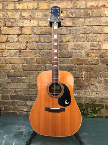 Epiphone FT-150 Dreadnought Made In Japan Circa 1980s Pre Owned