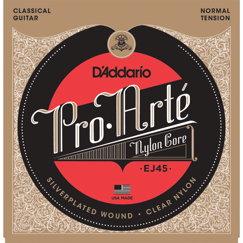 D'addario EJ45 Normal Tension Classical Guitar Strings x 2 Sets Free Shipping At Cart