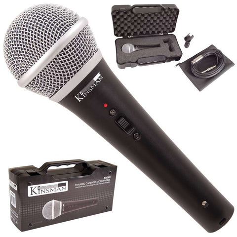 Kinsman KM003 Dynamic Cardioid Vocal Microphone