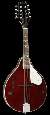 Tanglewood All Linden Teardrop F Hole Mandolin Dark Wine Red Gloss