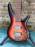 Ibanez SR-375E-AWB 5 String Bass Aged Whiskey Burst