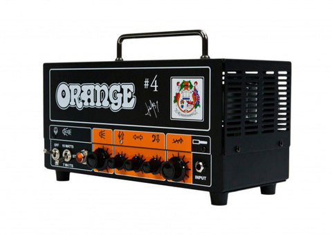 Orange #4 Jim Root Terror  Amplifier Head