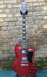 VINTAGE VS6 REISSUED ELECTRIC GUITAR ~ CHERRY B STOCK