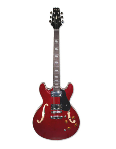 Aria TA Classic Hollow Body Wine Red / Sunburst / Black