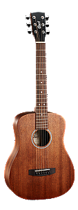 Cort AD Mini M OP Mahogany Travel Guitar with Gigbag