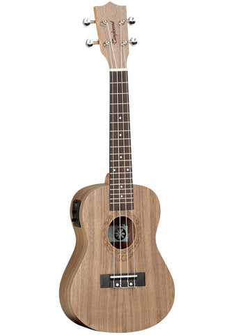 Tanglewood TWT3E Electric Concert Ukelele Black Walnut