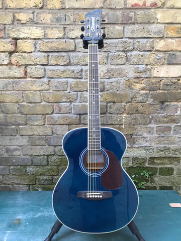 Brunswick BF200BL Folk Guitar Blue