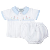 Freidknit by Feltman Brothers Boys Sailboat Diaper Set Preemie Newborn