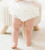 Feltman Brothers Baby Girls White Ruffled Diaper Cover Bloomers Size 0 3 Newborn & 3 6 9 Months