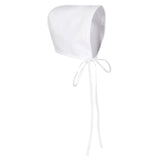 Feltman Brothers White Unisex Baby Bonnet Preemie Premature Boys or Girls