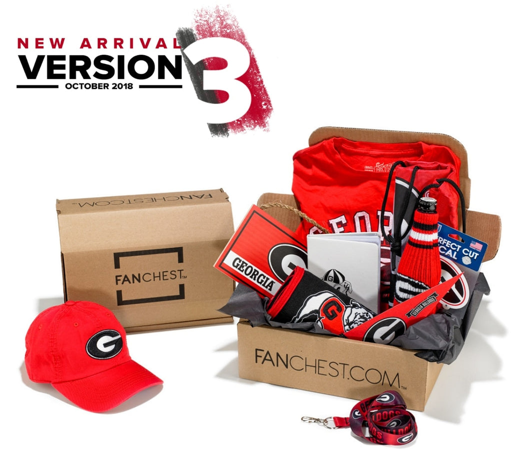 Georgia Bulldogs Gift Box Georgia Gear Apparel Fanchest
