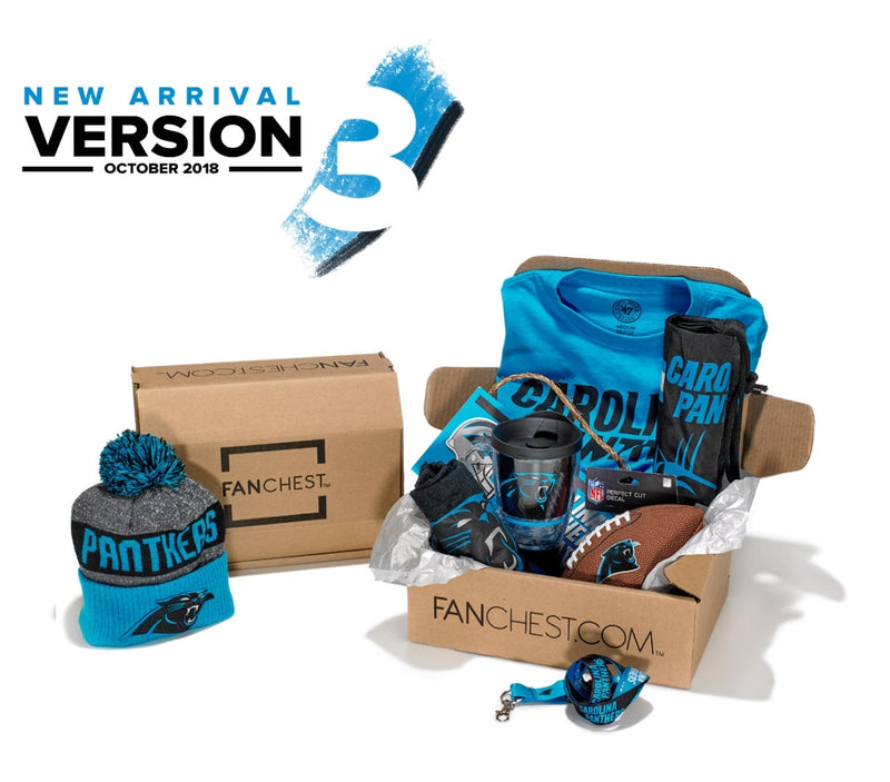 Carolina Panthers FANCHEST 3 e4bdb694e