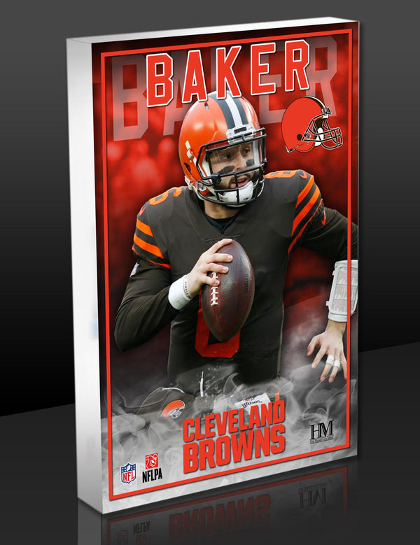 Browns Baker Mayfield BlocKart