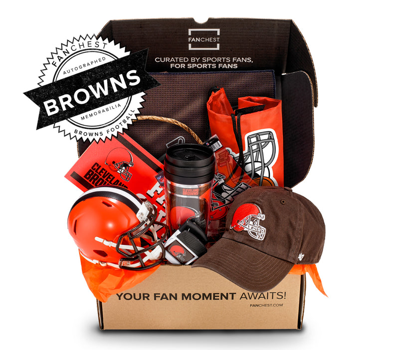 e827610d Cleveland Browns Memorabilia Gifts   Browns Mini Helmet Included