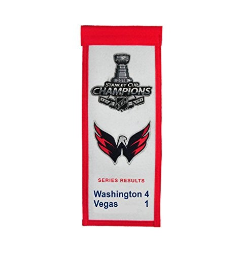 Capitals Stanley Cup Mini Banner