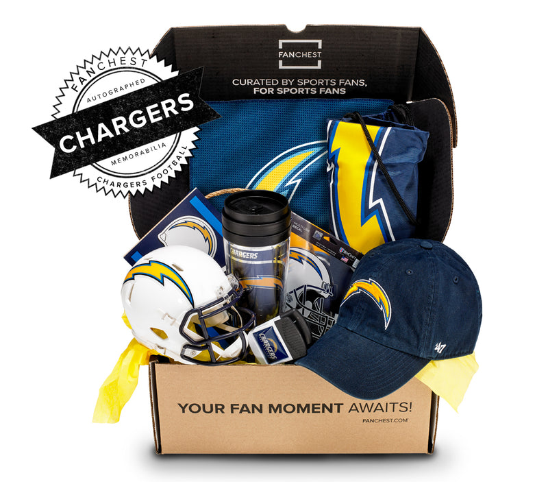 Los Angeles Chargers Memorabilia FANCHEST I