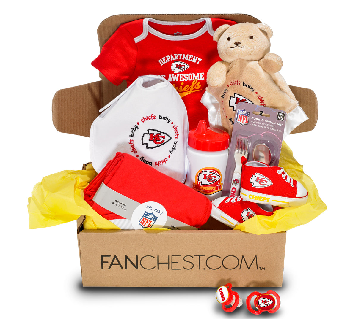 Kansas City Chiefs Baby FANCHEST I